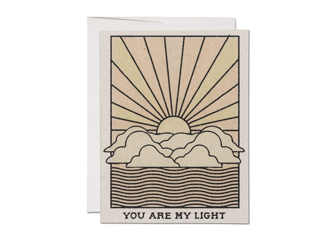 My Light Love Card