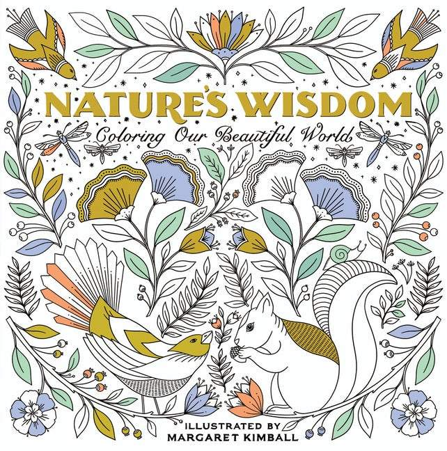 Nature's Wisdom Coloring Book