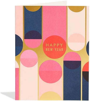 Miles New Year Foil Card