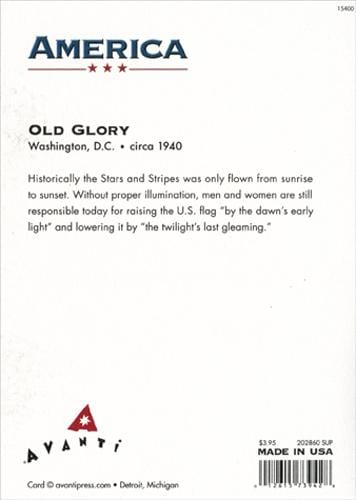 Old Glory Card
