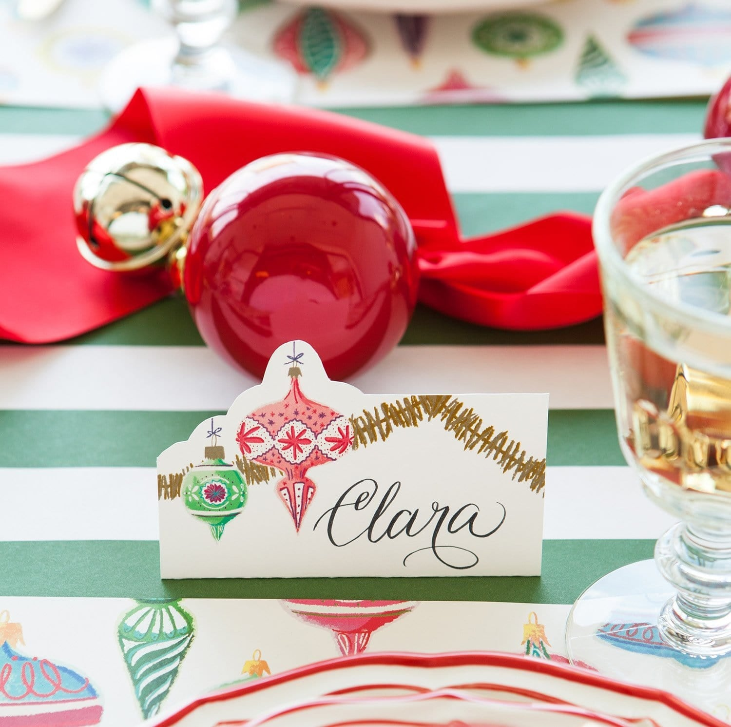 Ornaments Place Cards