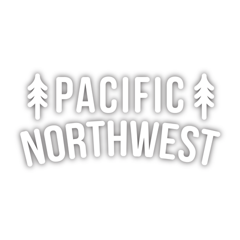 PNW Trees Diecut Sticker