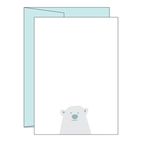 Little Polar Bear Imprintable Invitations