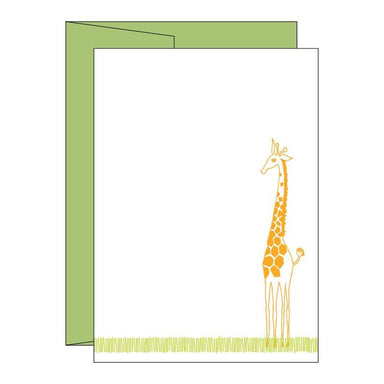 Little Giraffe Imprintable Invitations