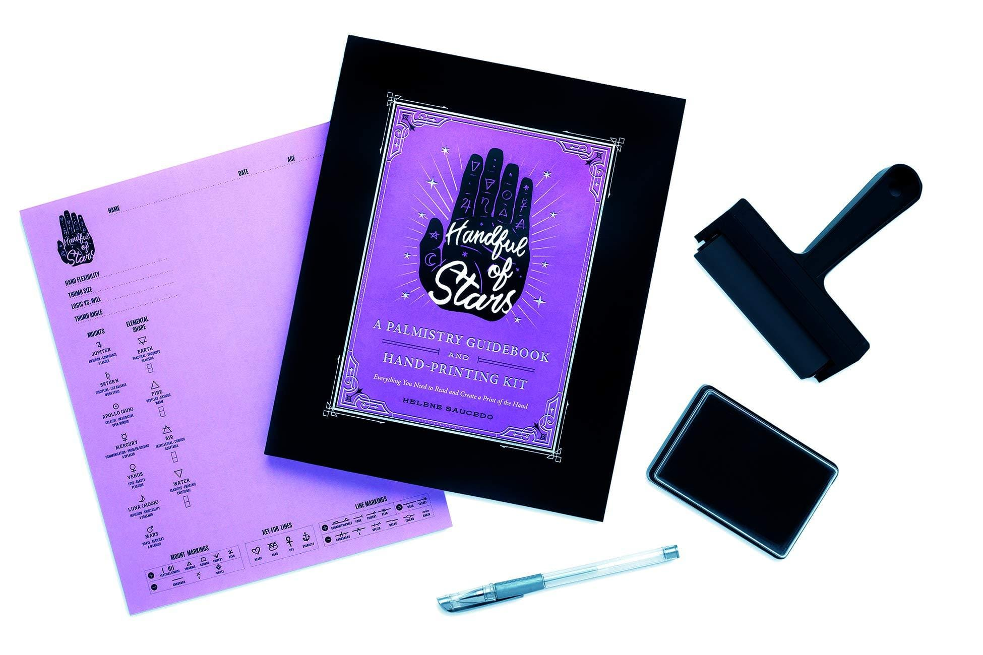Handful of Stars: A Palmistry Guidebook and Hand-Printing Kit