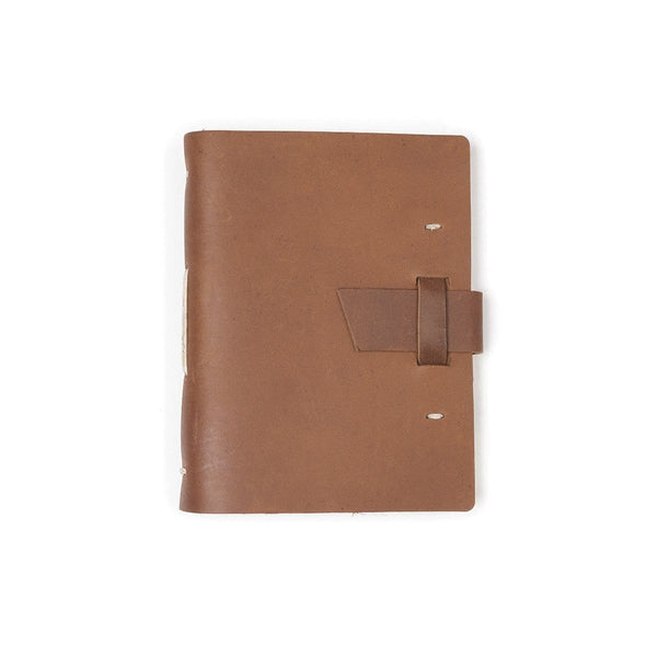 Parley Leather Journal - Saddle