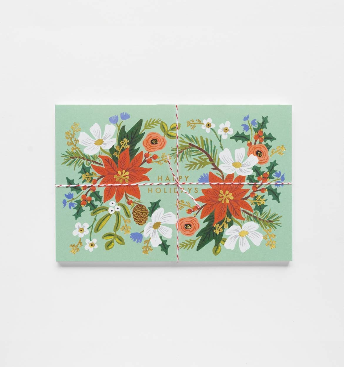 Holiday Floral Postcards