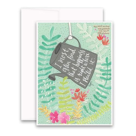 Planted It Greeting Card