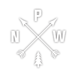 Pacific Northwest Sticker - White