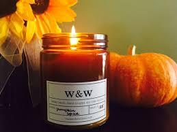 Pumpkin Spice - 9 oz Pure Soy Wax Candle