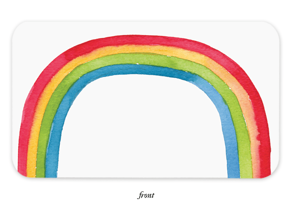 E. Frances Bundle: Rainbow Little Notes + Little Note Holder