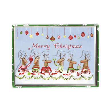 Reindeers Christmas Feast Classic Boxed Cards