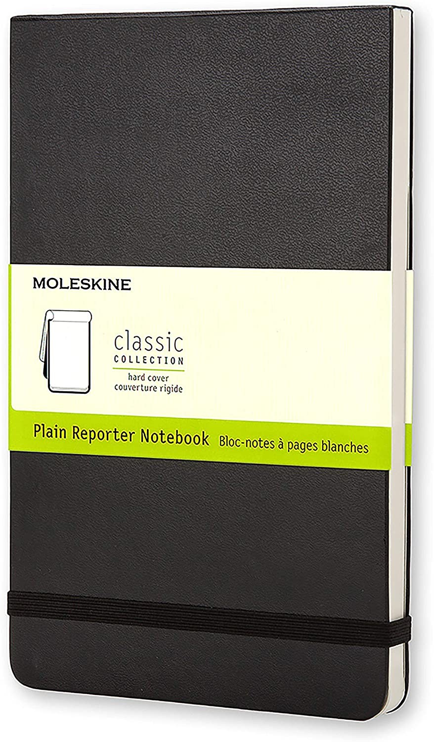 Moleskine Plain Reporter Large Notebook - Hard Cover