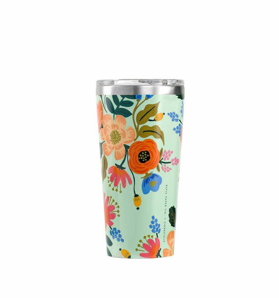 Rifle Paper Co + Corkcicle Everyday 16 oz Tumbler - Lively Floral