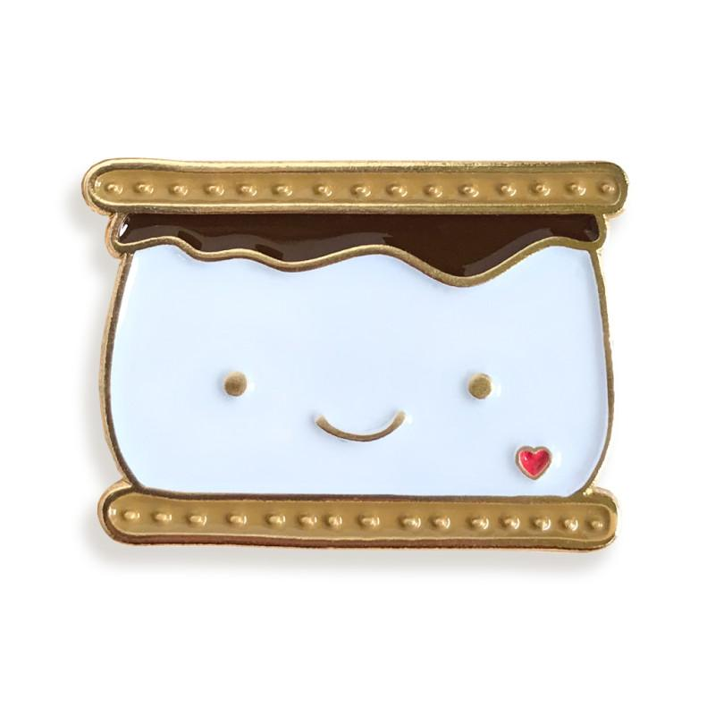 S'more Enamel Pin