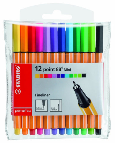 Stabilo Point 88 - Mini Set of 12