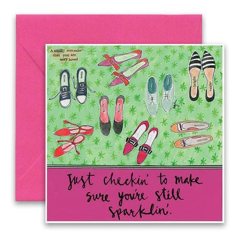 Still Sparklin' Greeting Card