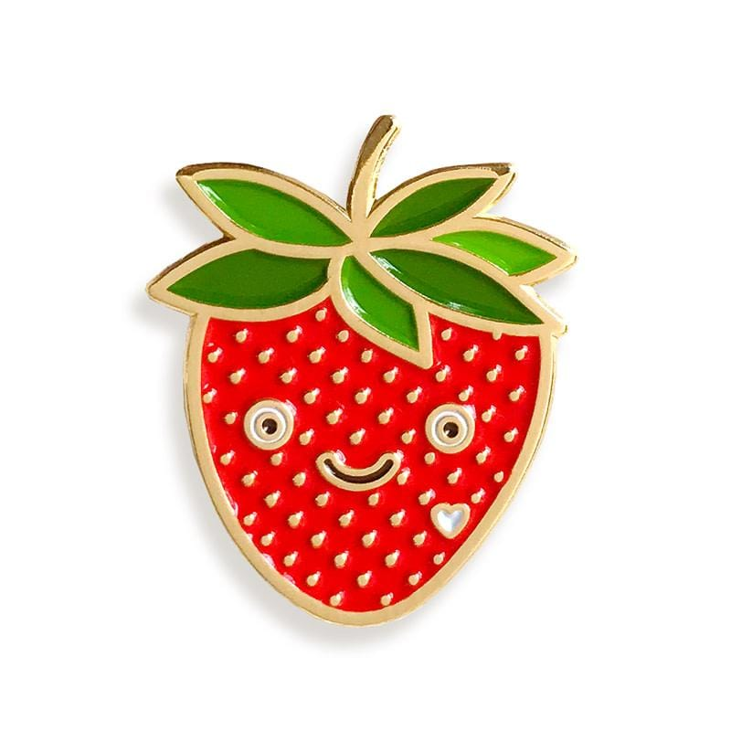 Pin Pals - Happy Strawberry
