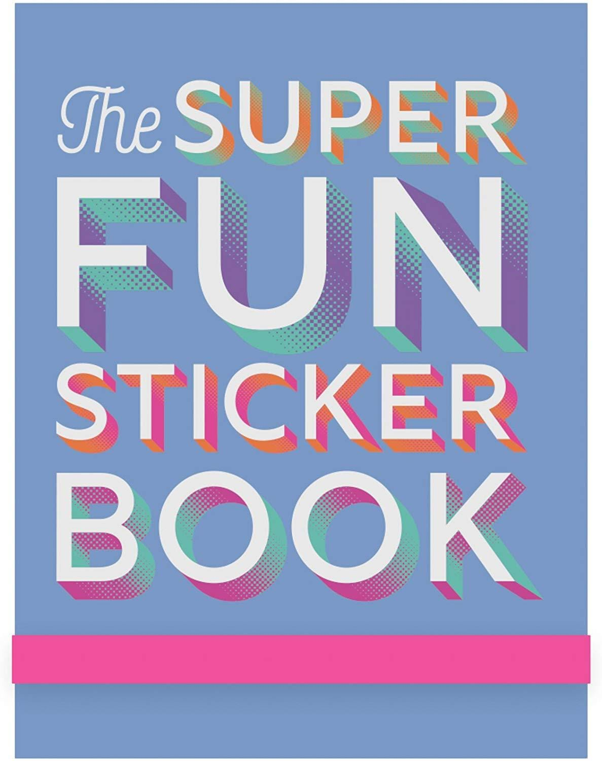Super Fun Sticker Book