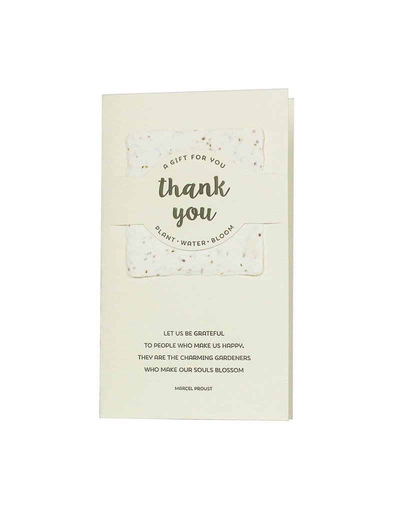 Thank You Wildflower Mix Card