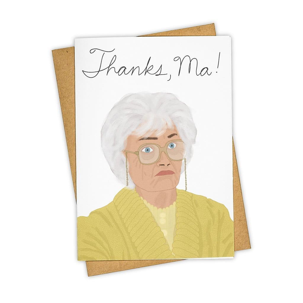 Thanks, Ma Golden Girls Card