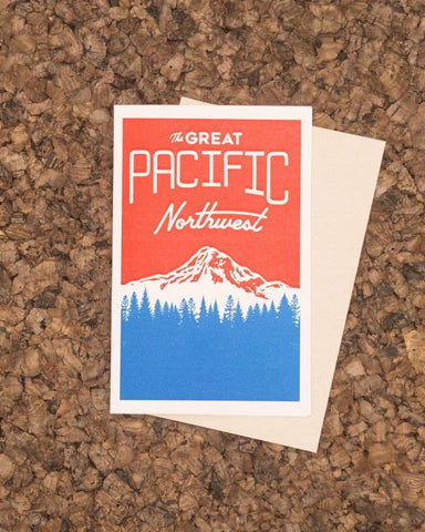 The Great Pacific Northwest Card