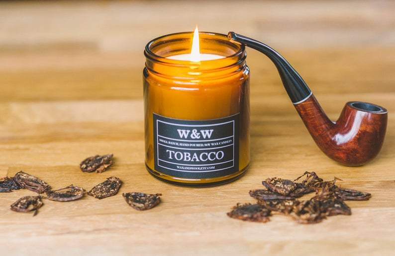 Tobacco 9oz Candle