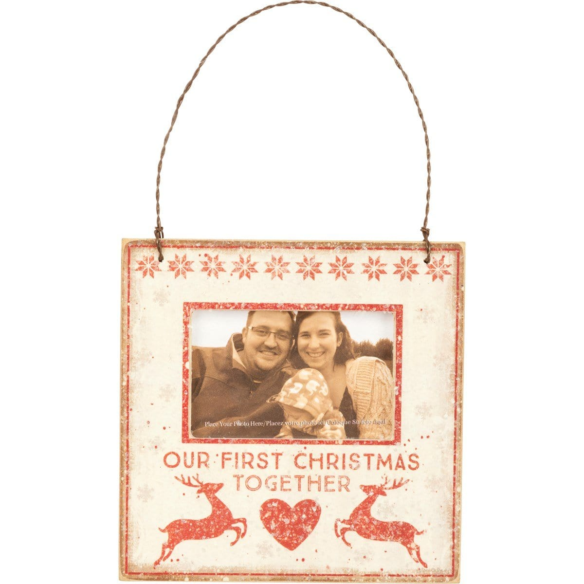 First Christmas Together Mini Frame