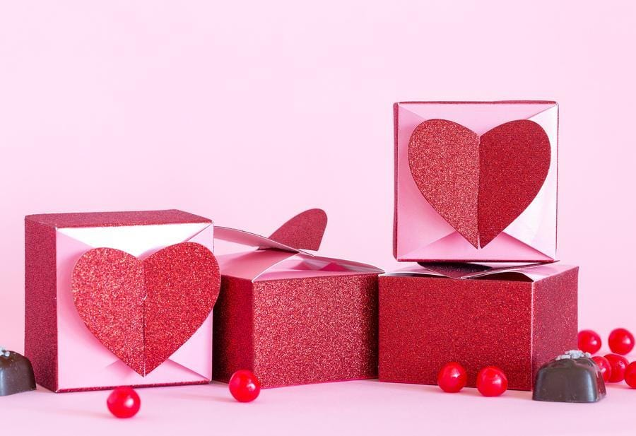 Heart Favor Boxes