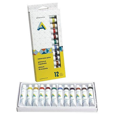 Watercolor 12-Color Tube Set
