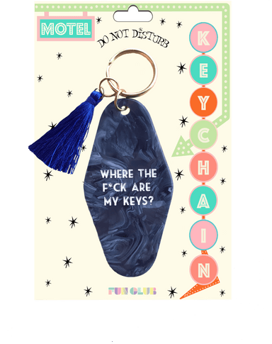 Where Are My Keys Keychain