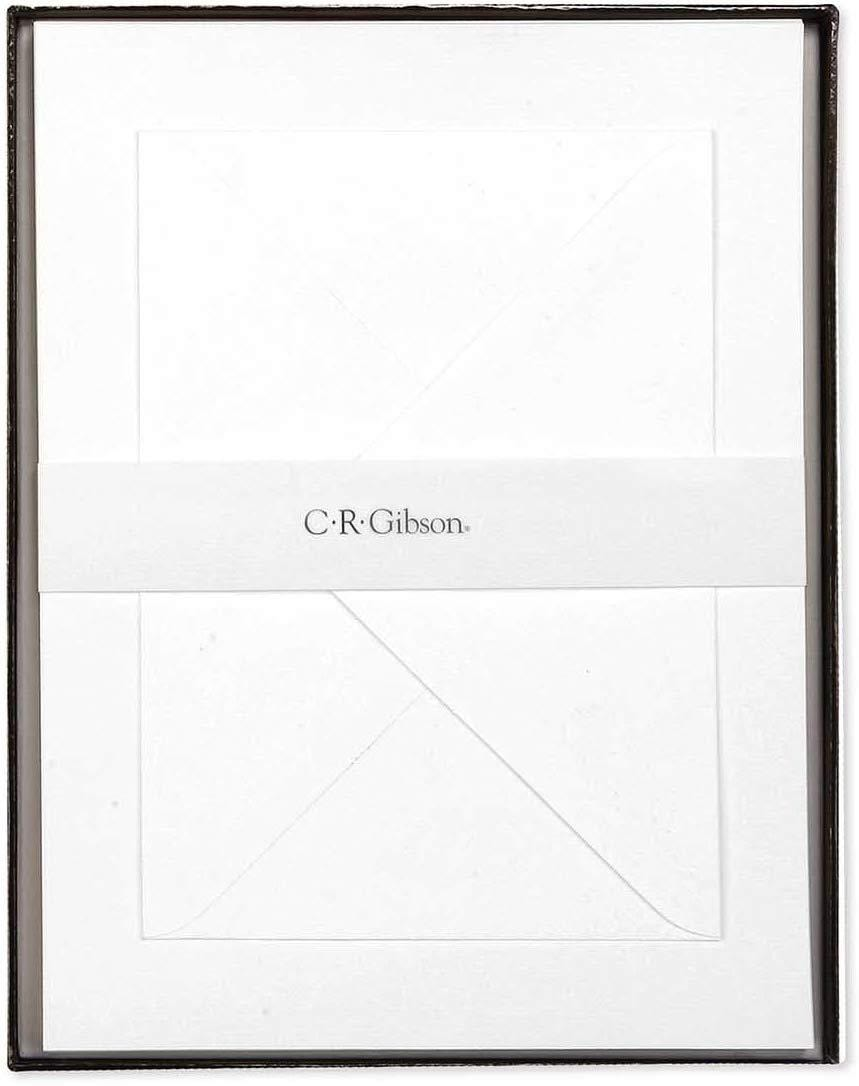White Boxed Letter Papers with Envelopes