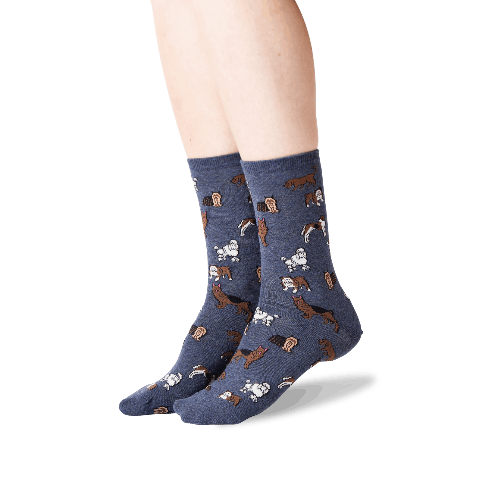 Women's Classic Dog Crew Socks
