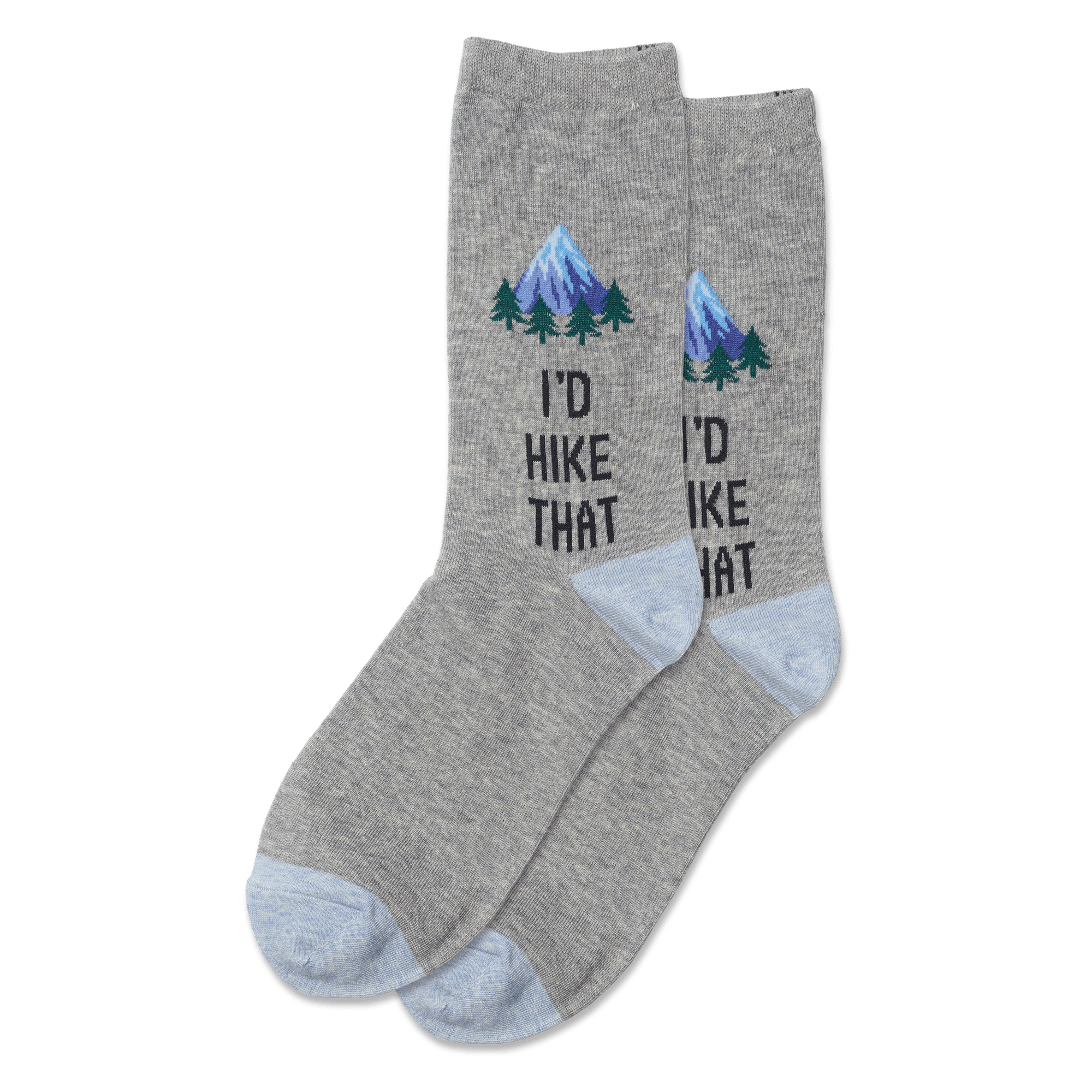 Women's I'd Hike That Socks