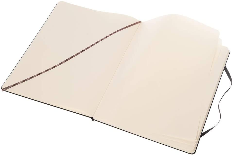Moleskine Plain Classic XL Notebook - Hard Cover