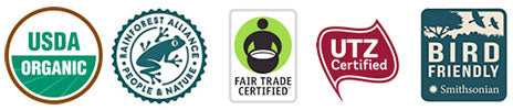 Living Pantry Coffee Certifications