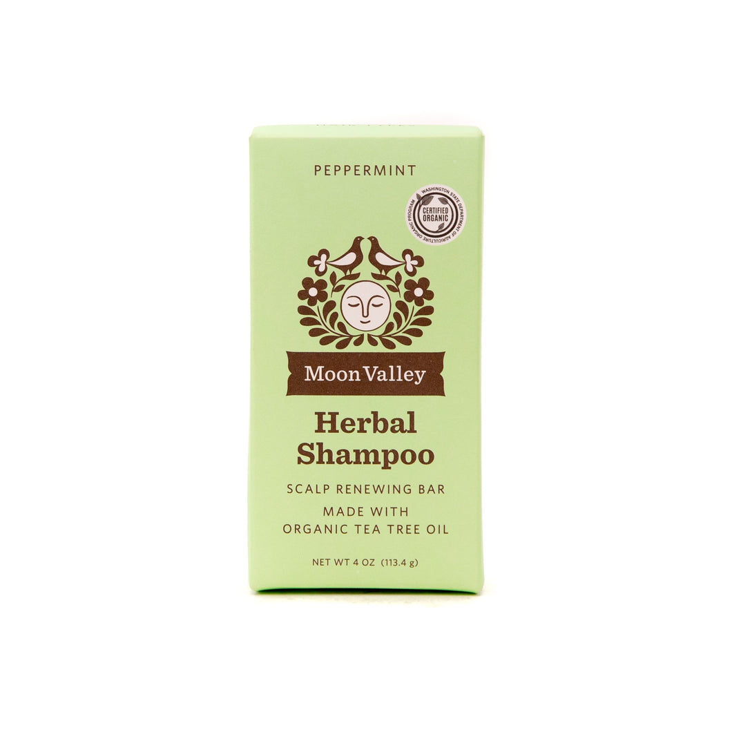 Herbal Shampoo Bar Peppermint