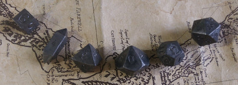 A full set of Gil dice, as seen on his twitter