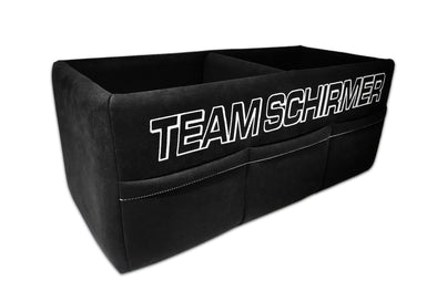 Team Schirmer Wooden Helmet Box incl. Alcantara Cover