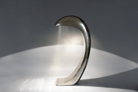 NAUTILUS FLOOR LAMP in CHROME