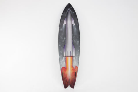 STARSHIP SURFBOARD