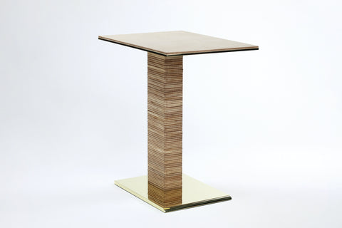 CANTILEVER INFINITY SIDE TABLE - NATURAL