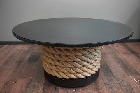 STEEL & ROPE COFFEE TABLE
