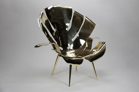 PHILODENDRON LEAF LOUNGE CHAIR