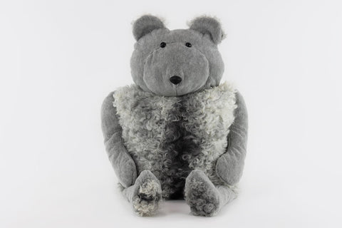 Bear Buddy Throw Pillow