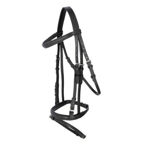 Covalliero English Bridle in Black