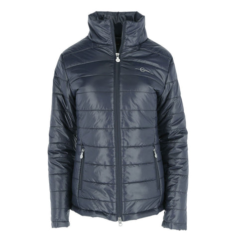 Covalliero – Ladies padded / Quilted Jacket in Navy