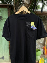 Load image into Gallery viewer, Embroidered Pocket Tee - Cartoons