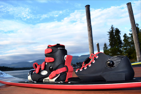 REVO Sub-Z: Heel Release & Toe Clamp System - Fluid Motion Sports - Sproat Lake