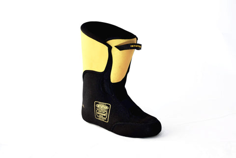 Intuition Boot Liner : Dreamliner (Black and Gold) - Fluid Motion Sports - Sproat Lake